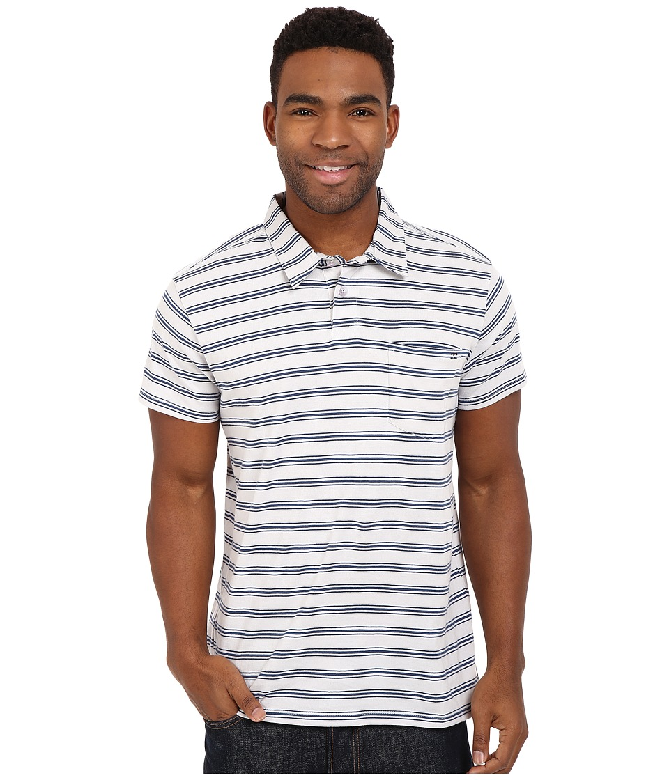 Billabong - Standard Issue Polo (Alloy) Men's Short Sleeve Pullover