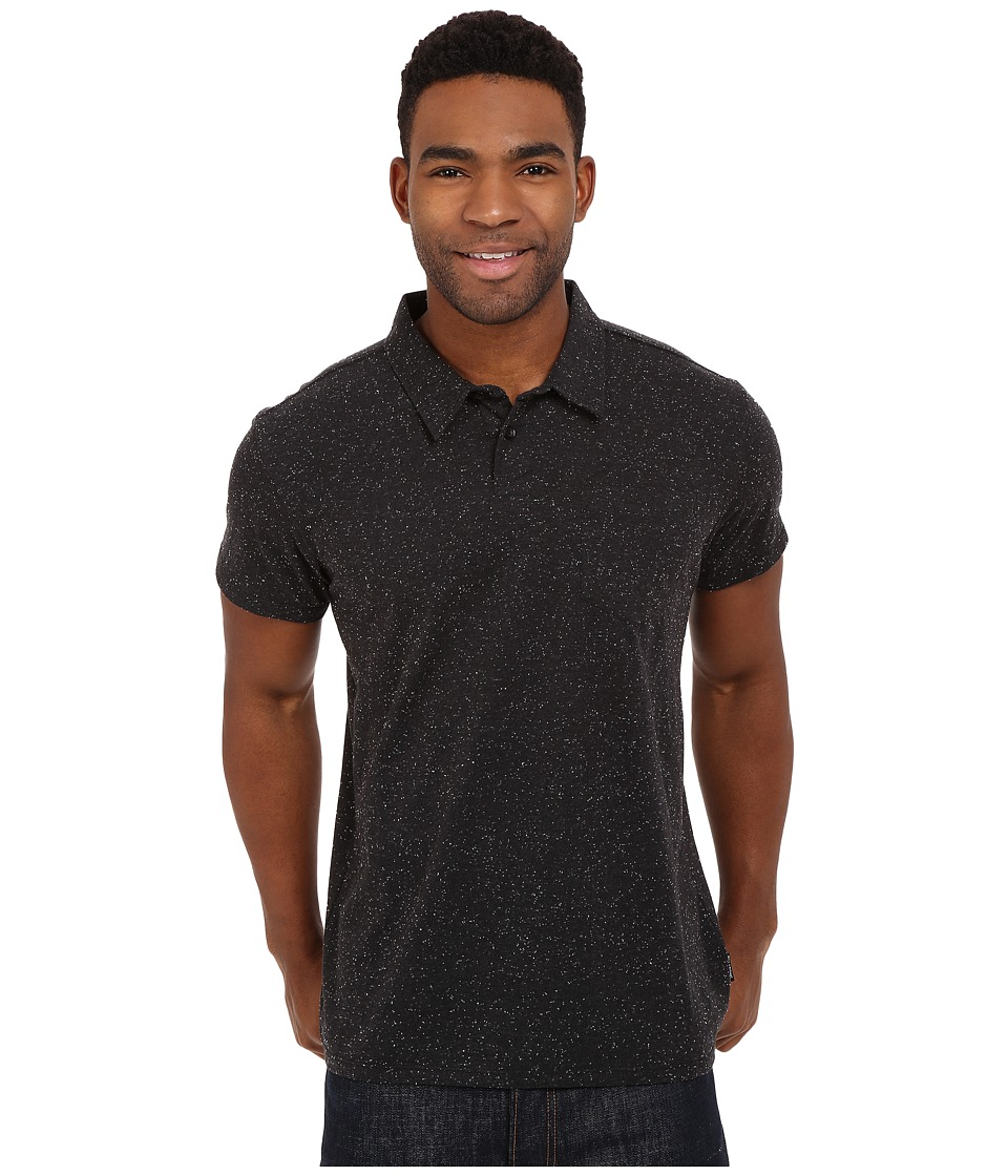Billabong - Standard Issue Polo (Black) Men's Short Sleeve Pullover
