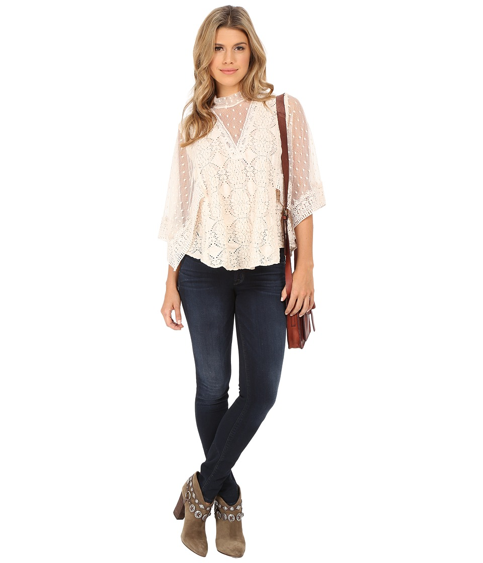 Free People - Hard Candy Tee (Ecru) Women's Blouse