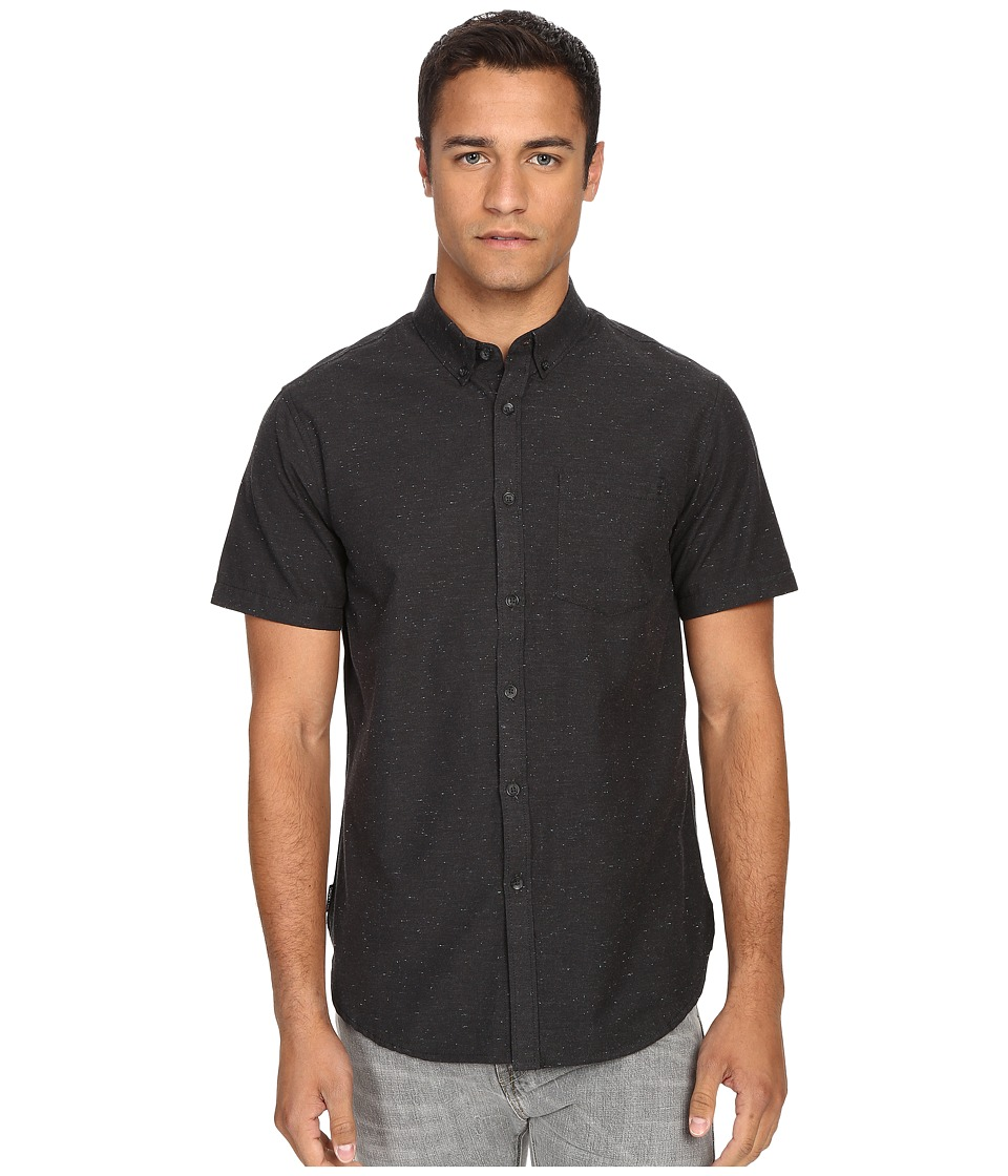 Billabong - All Day S/S Woven (Stealth) Men's Short Sleeve Button Up