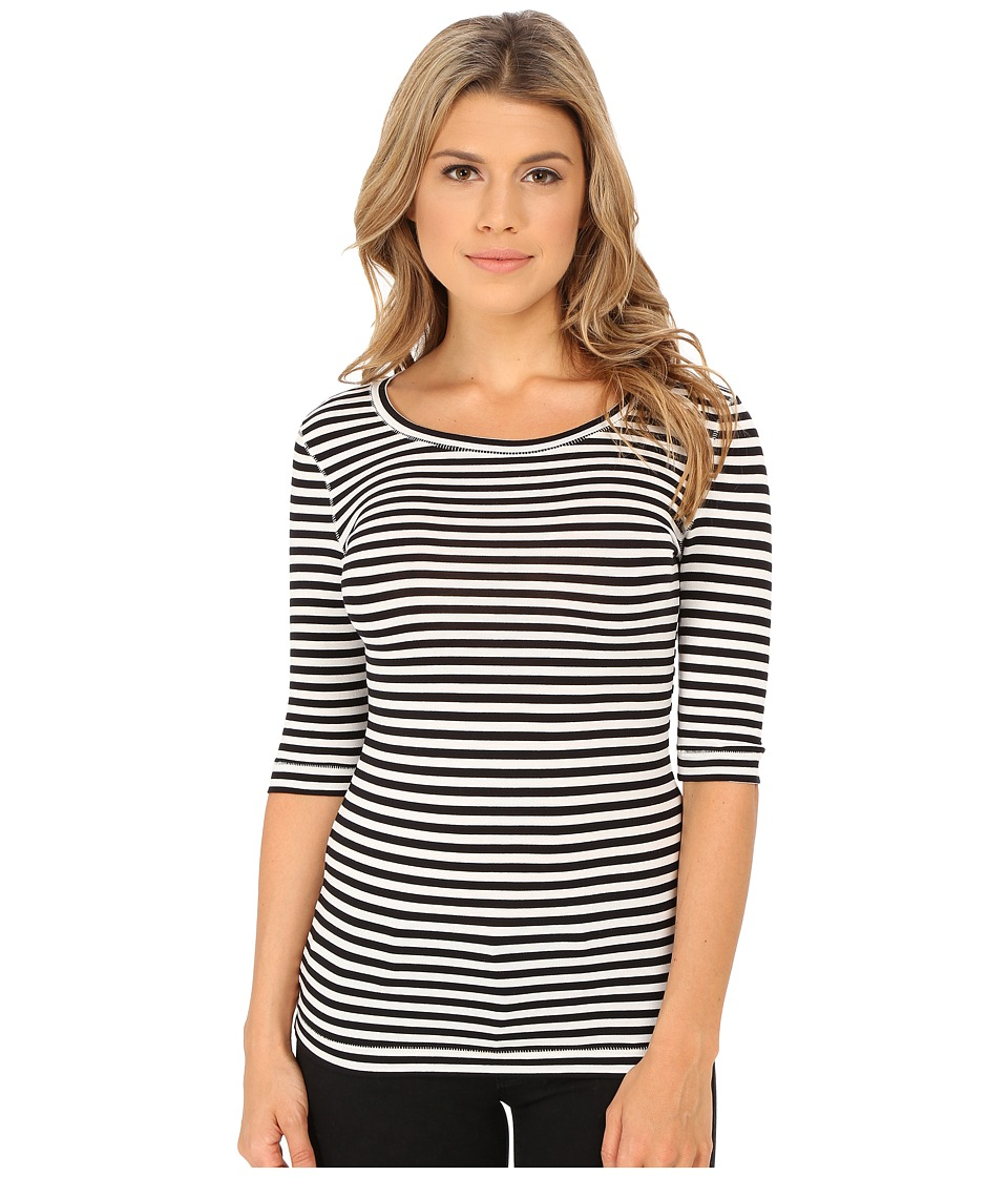 Free People - Leader Of The Pack Striped Tee (Ivory Combo) Women