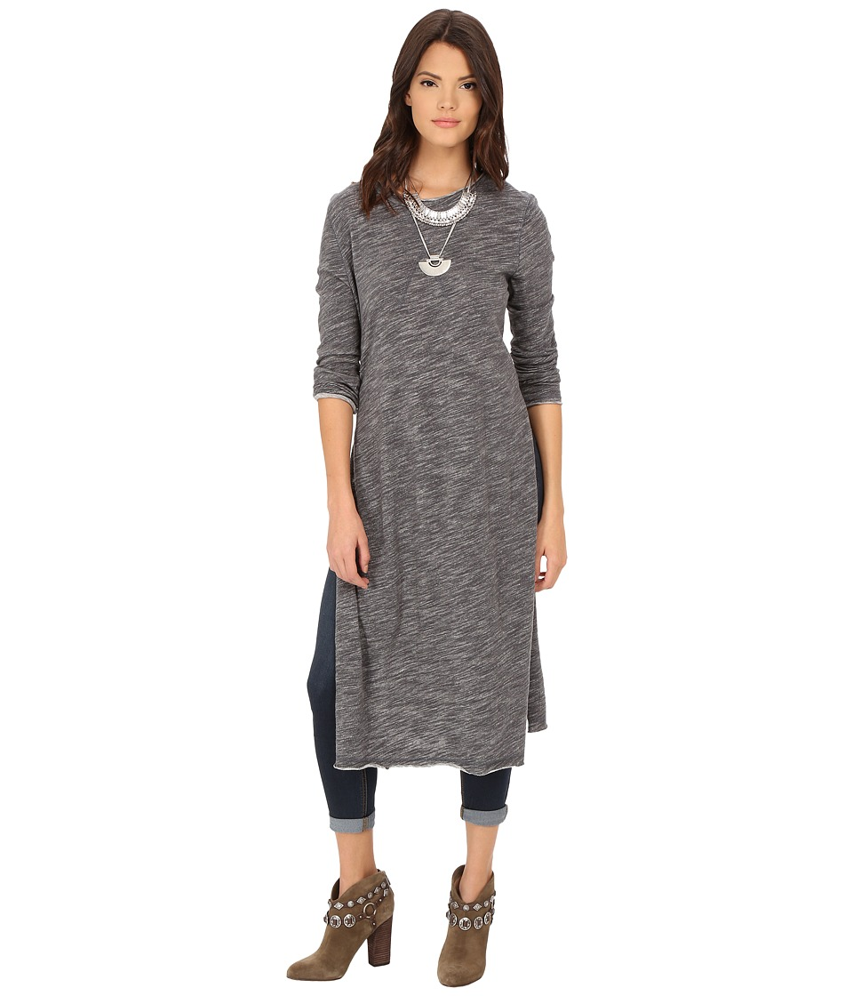Free People - To The Max Pullover (Charcoal) Women's Long Sleeve Pullover