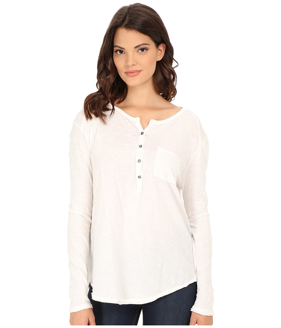Free People - Frontier Henley (Ivory) Women's Clothing