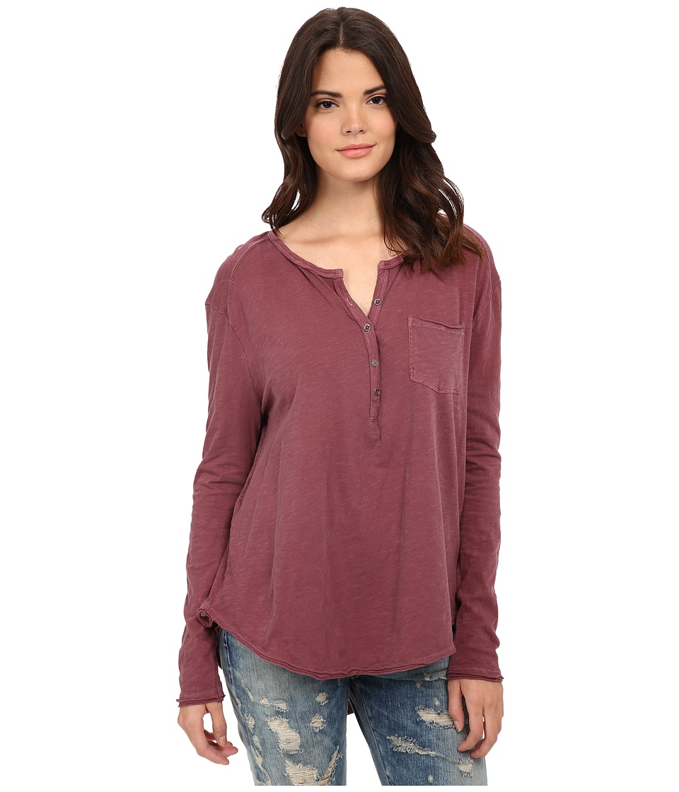 Free People - Frontier Henley (Brick) Women's Clothing