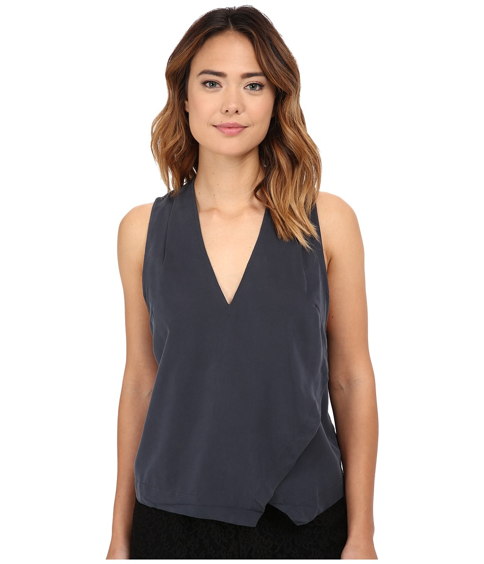 Free People - Simply Days Top (Slate) Women's Blouse