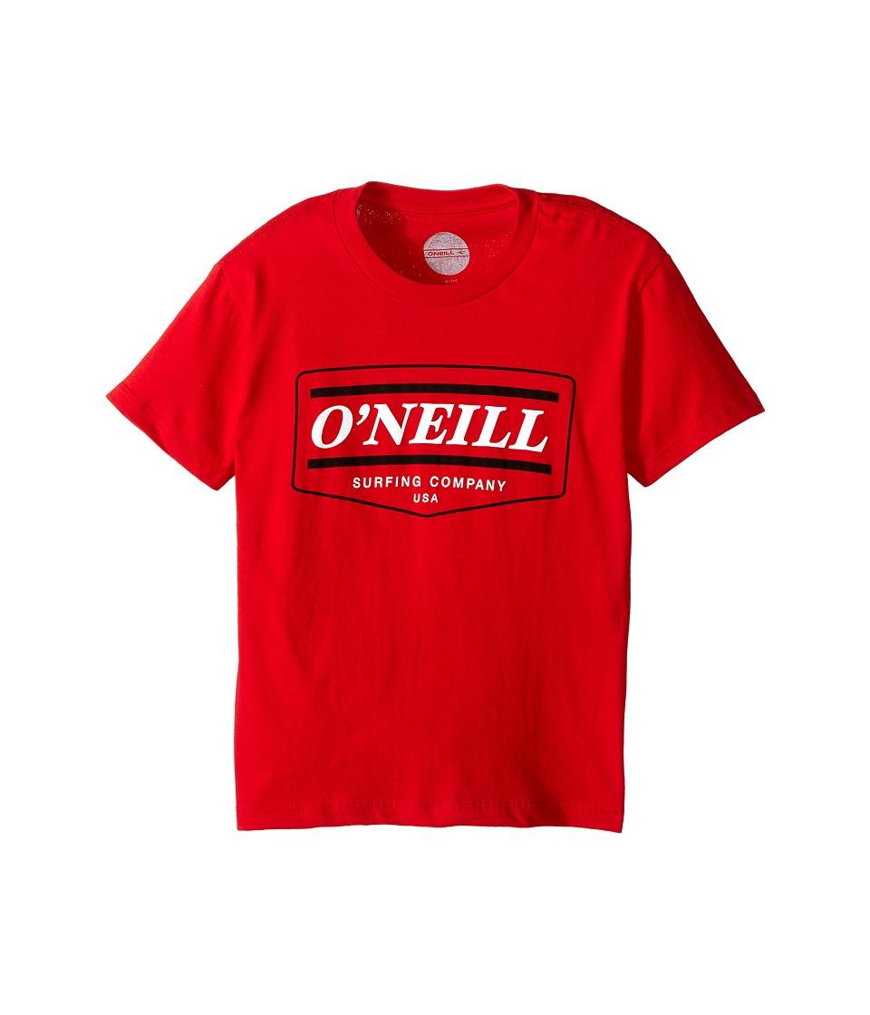 O'Neill Kids - Mover Short Sleeve Tee (Big Kids) (Cardinal Red) Boy's T Shirt