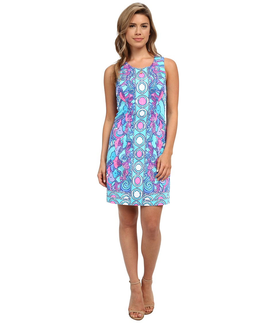 Lilly Pulitzer - Abigail Shift Dress (Multi Sea Jewels Engineered) Women's Dress