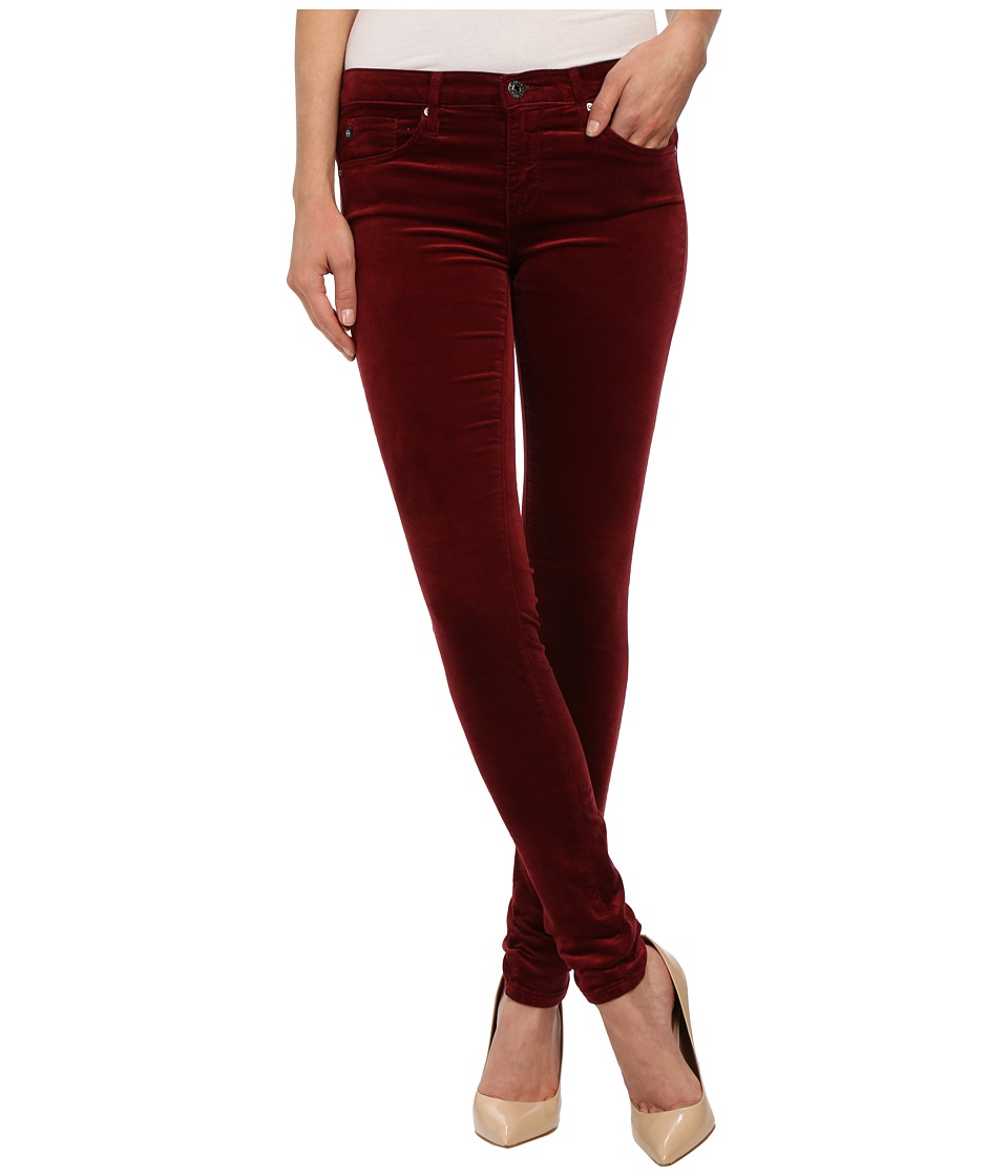 AG Adriano Goldschmied - The Legging in Cabernet (Cabernet) Women