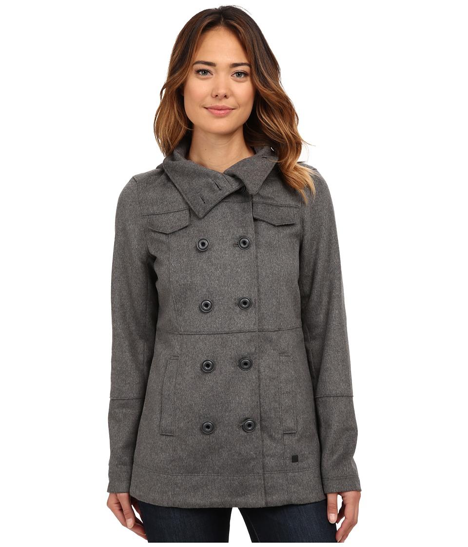 Hurley - Winchester Novelty Jacket (Heather Cool Grey) Women