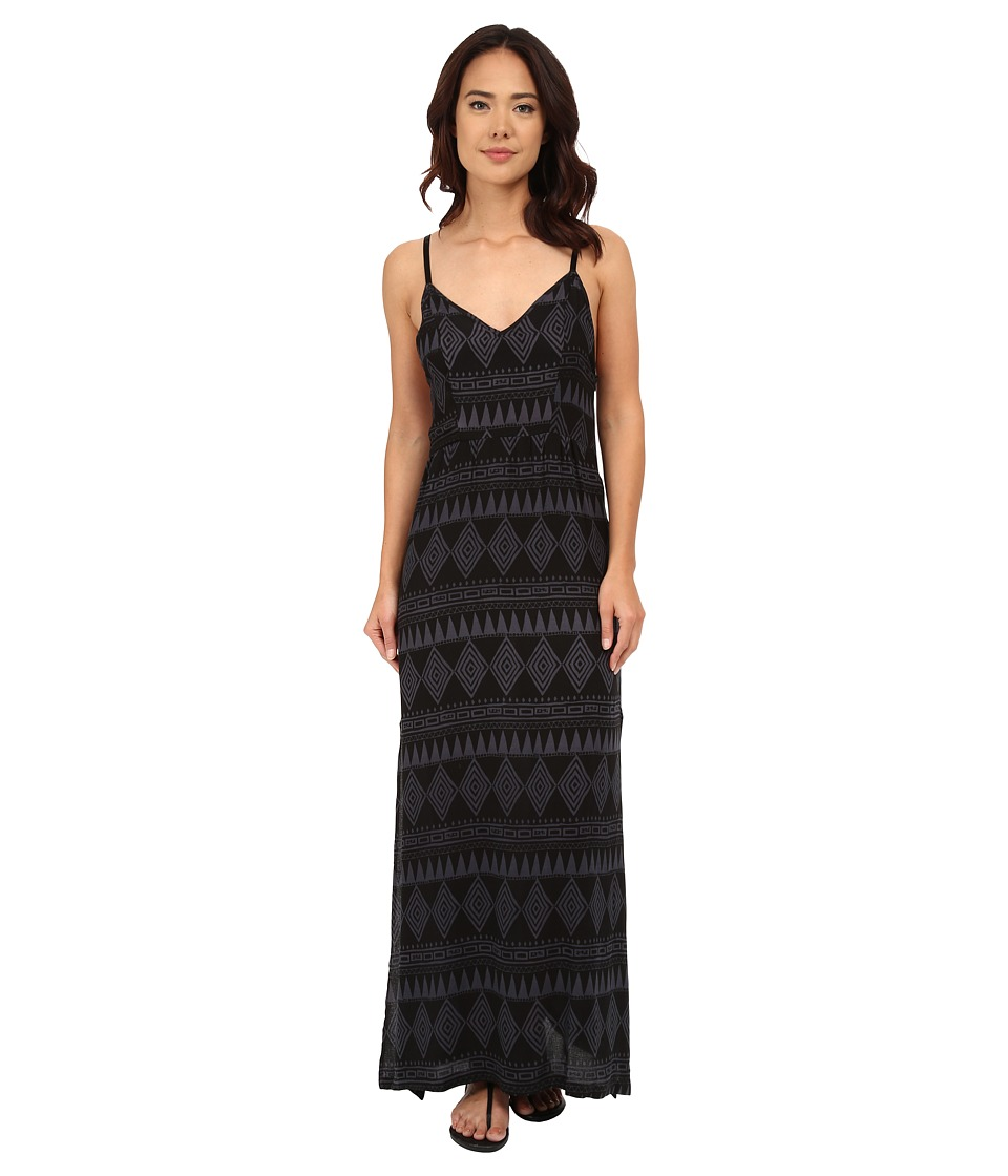 Hurley Silvina Maxi Dress (Black) Women