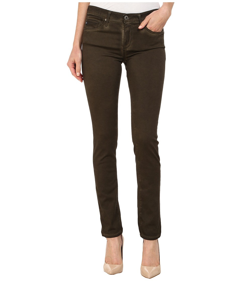 AG Adriano Goldschmied - The Stilt in Seasoaked Desert Green (Seasoaked Desert Green) Women's Jeans
