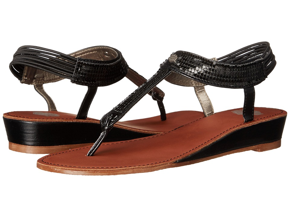 Harley Davidson Carrillo (Black) Women's Sandals