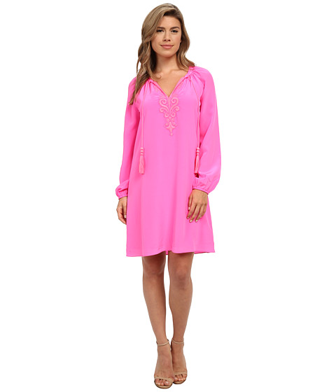 Lilly Pulitzer - Roslyn Tunic Dress (Tropical Pink) Women's Dress