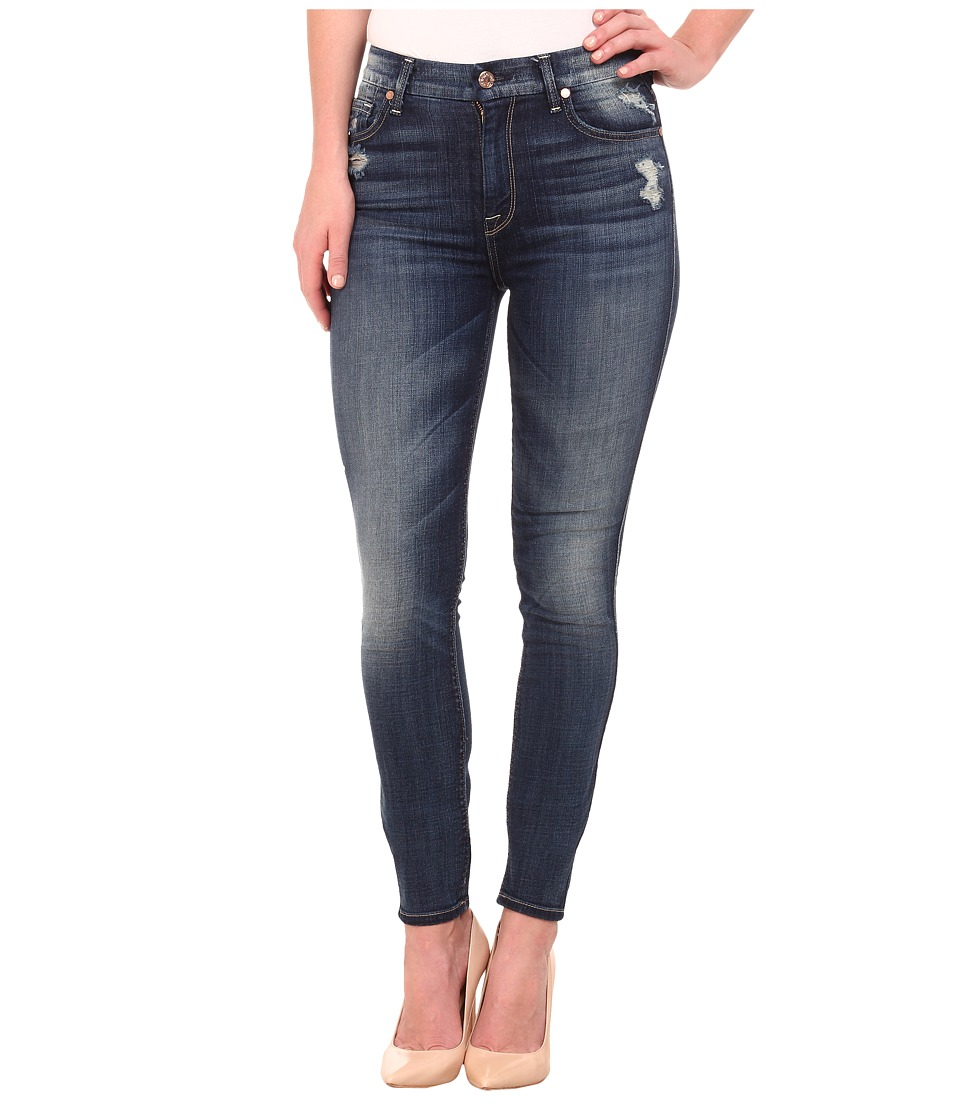 7 For All Mankind - The HW Skinny in Icelandic Blue (Icelandic Blue) Women's Jeans