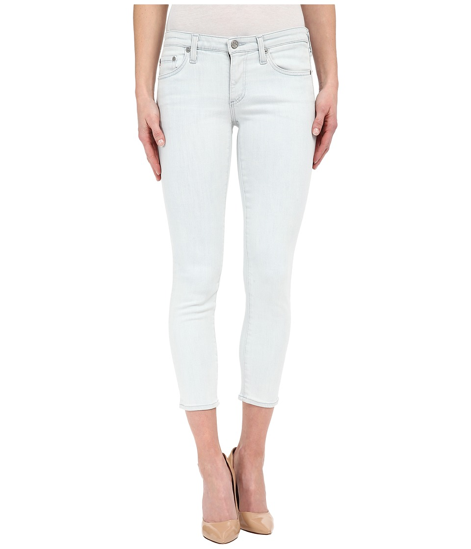 AG Adriano Goldschmied - The Stilt Crop in 25 Years Frost (25 Years Frost) Women's Jeans