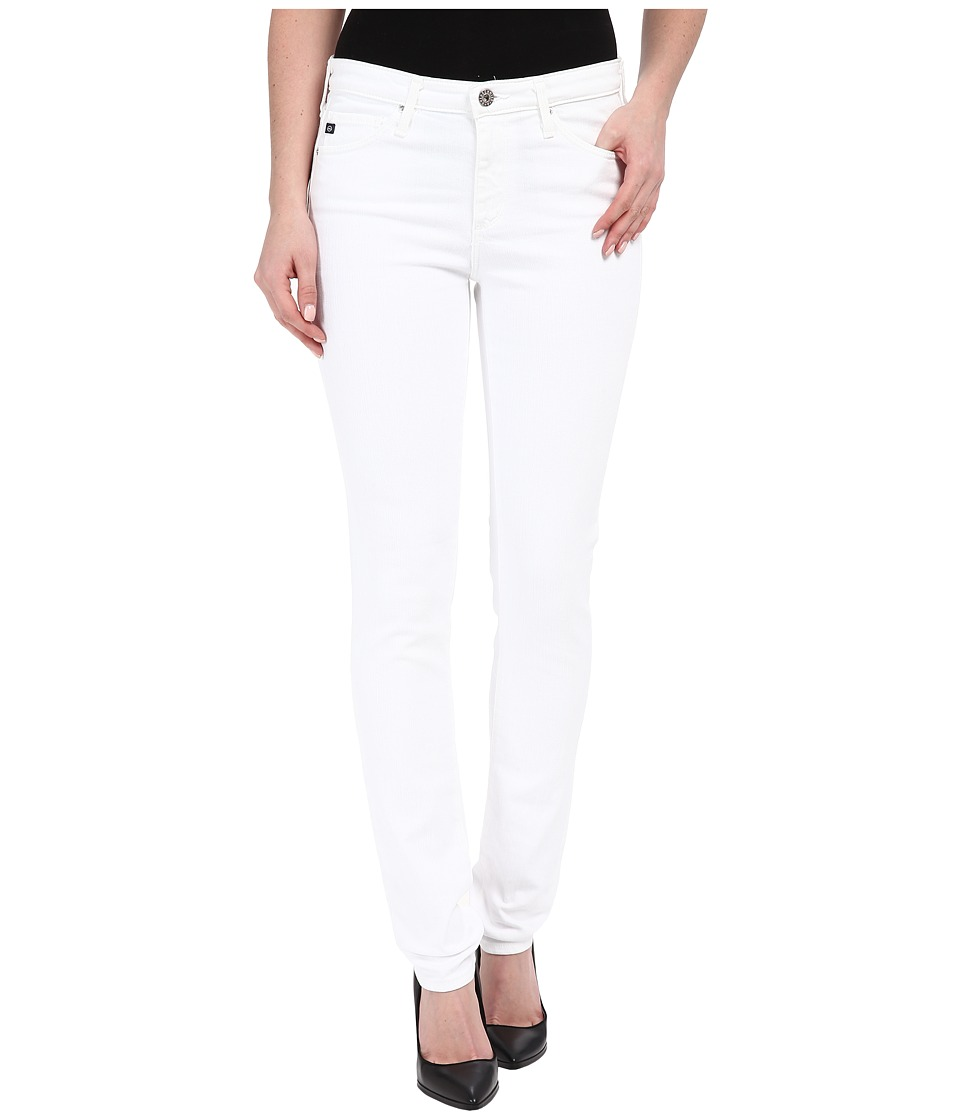 AG Adriano Goldschmied - The Prima in White (White) Women's Jeans