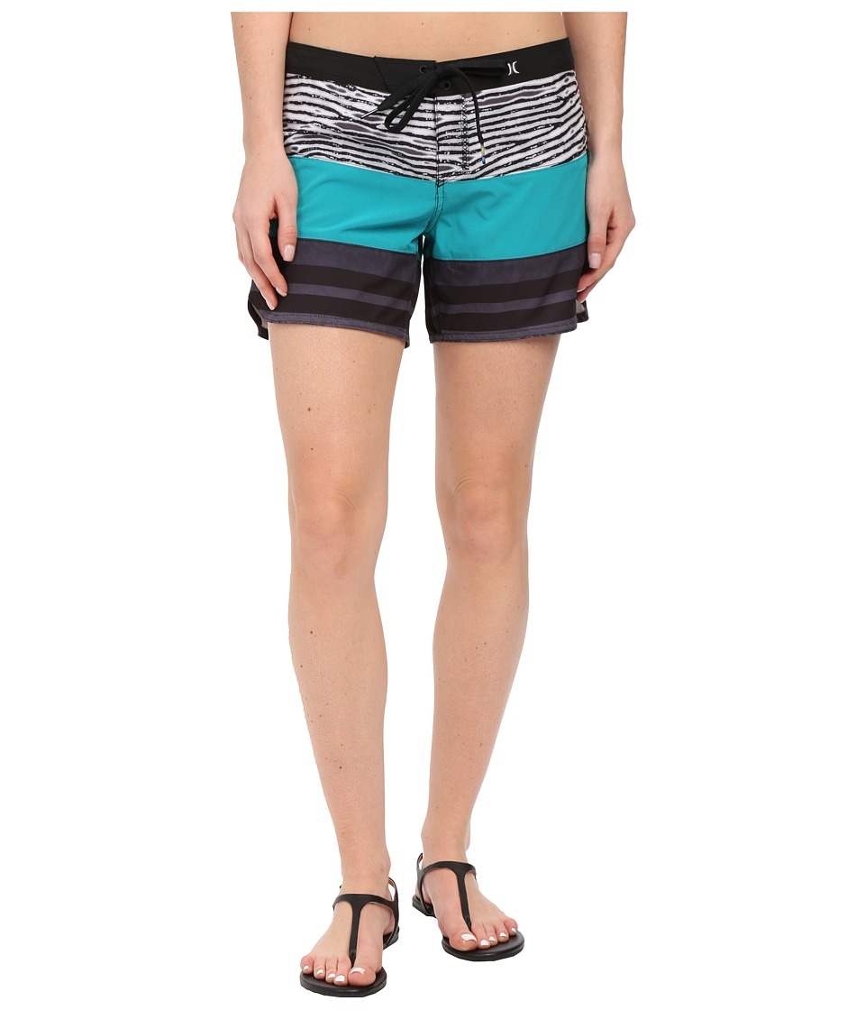Hurley - Phantom 5 Beachrider (Black) Women's Swimwear