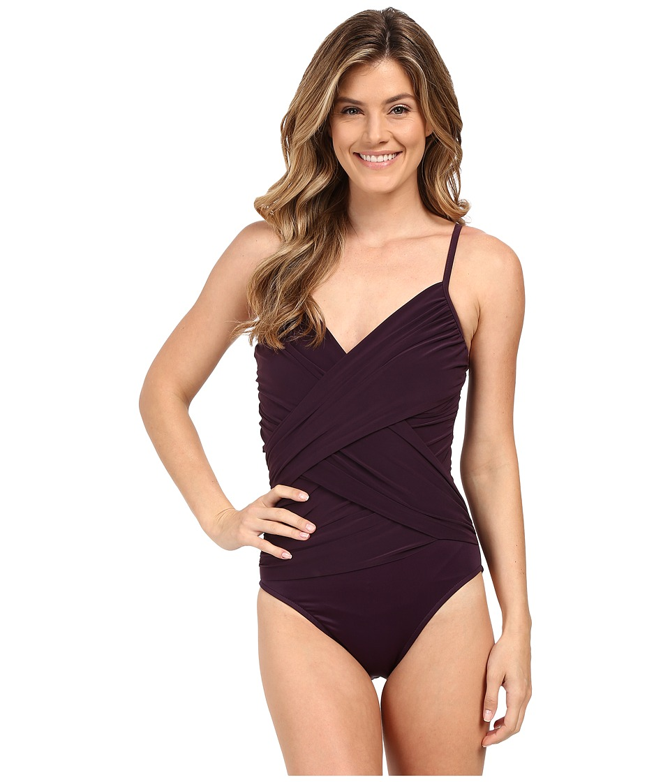 Magicsuit - Solid Harper Underwire One-Piece (Fig) Women's Swimsuits One Piece
