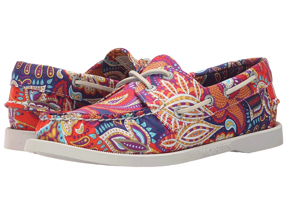 Sebago - Dockside (Persia Liberty Print) Women's Lace up casual Shoes