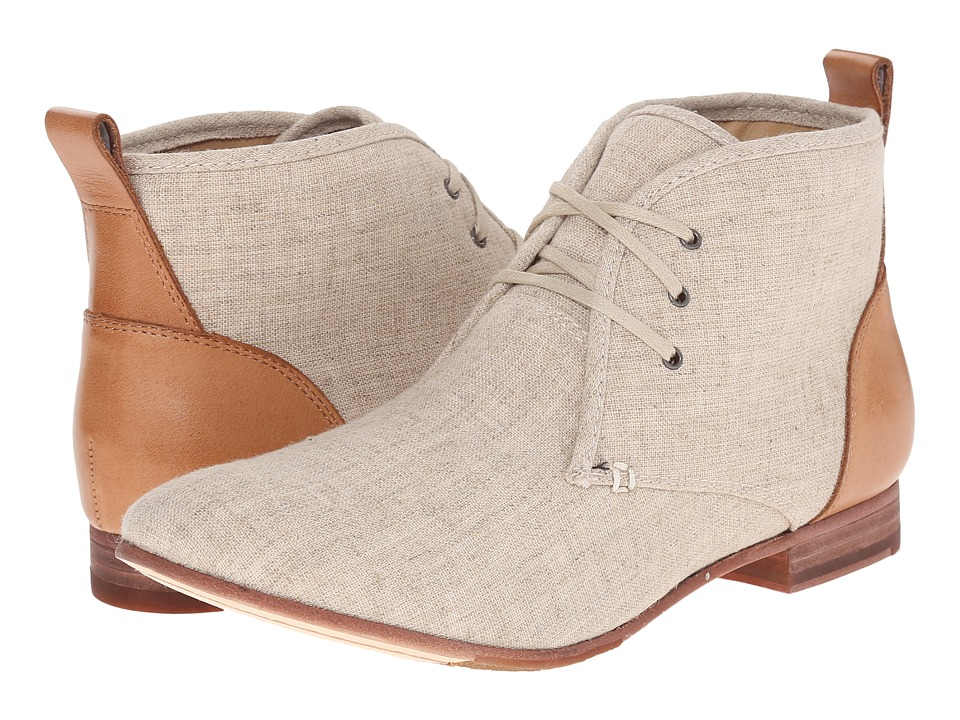 Sebago Hutton Chukka (Natural Linen/Tan Leather) Women