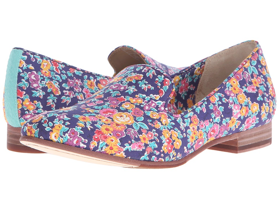 Sebago Hutton Smoking Flat (Tatum Liberty Print) Women