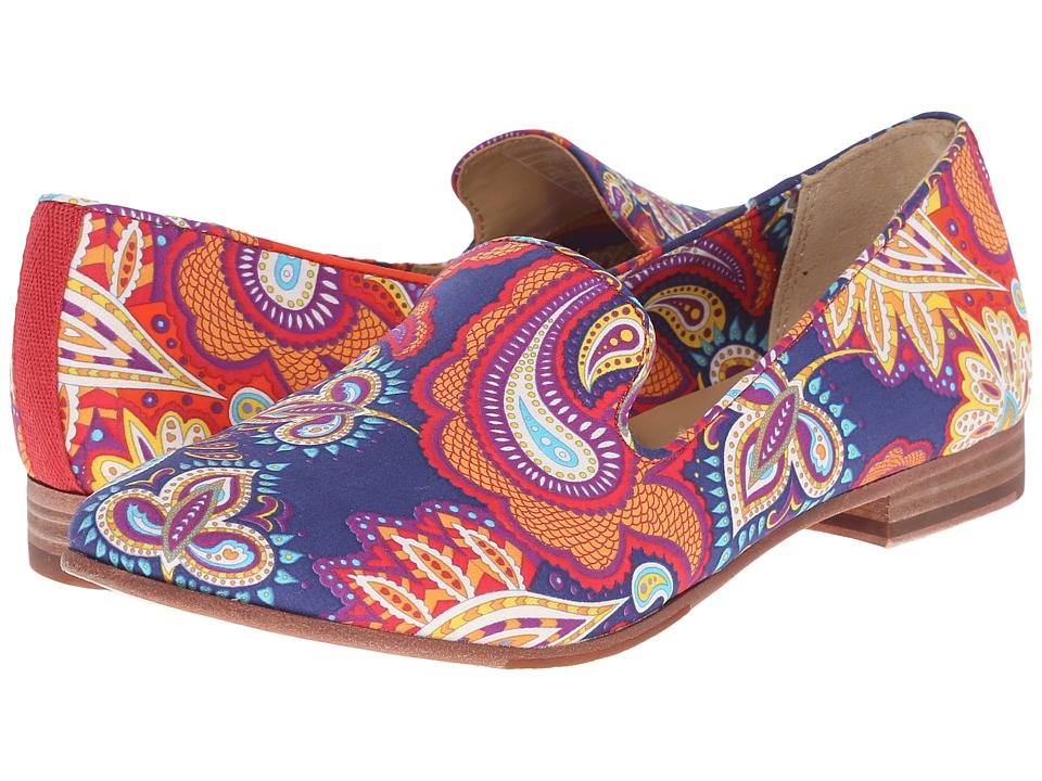 Sebago Hutton Smoking Flat (Persia Liberty Print) Women