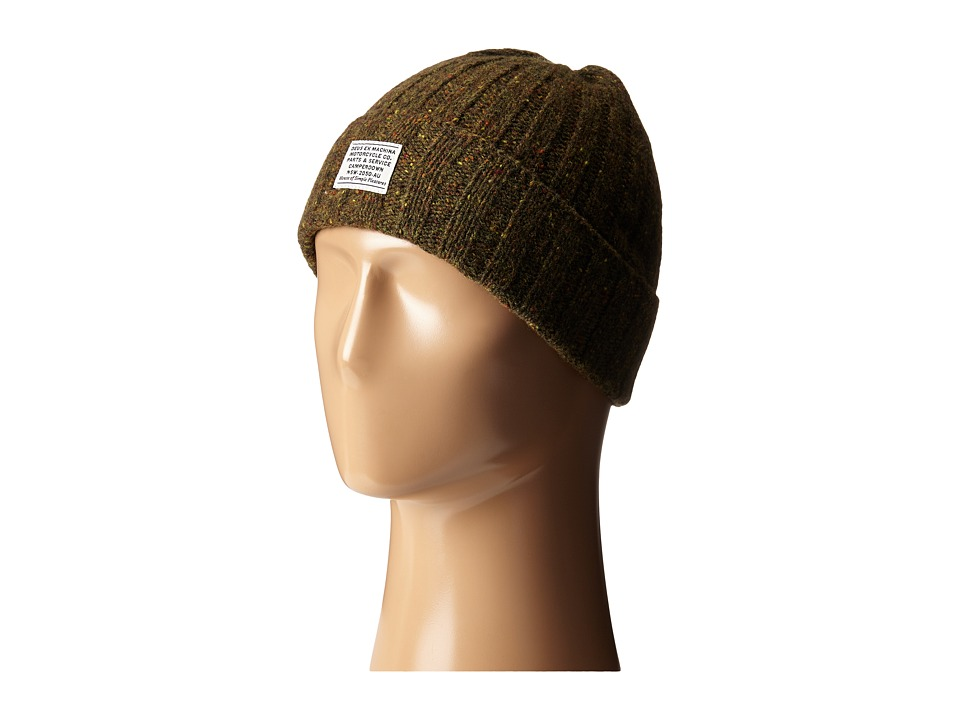 Deus Ex Machina - Nelson Beanie (Olive Green ) Caps