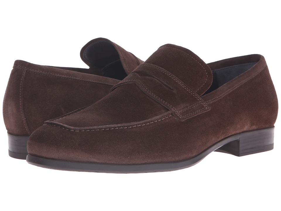 To Boot New York - Clifton (Dark Brown) Men's Slip-on Dress Shoes