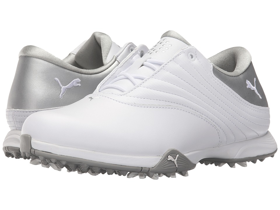 PUMA Golf - Blaze (White/Puma Silver) Women's Golf Shoes