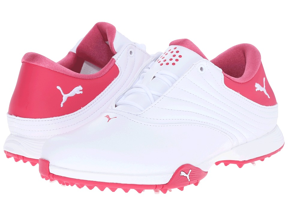 PUMA Golf - Blaze (White/Rose Red) Women's Golf Shoes