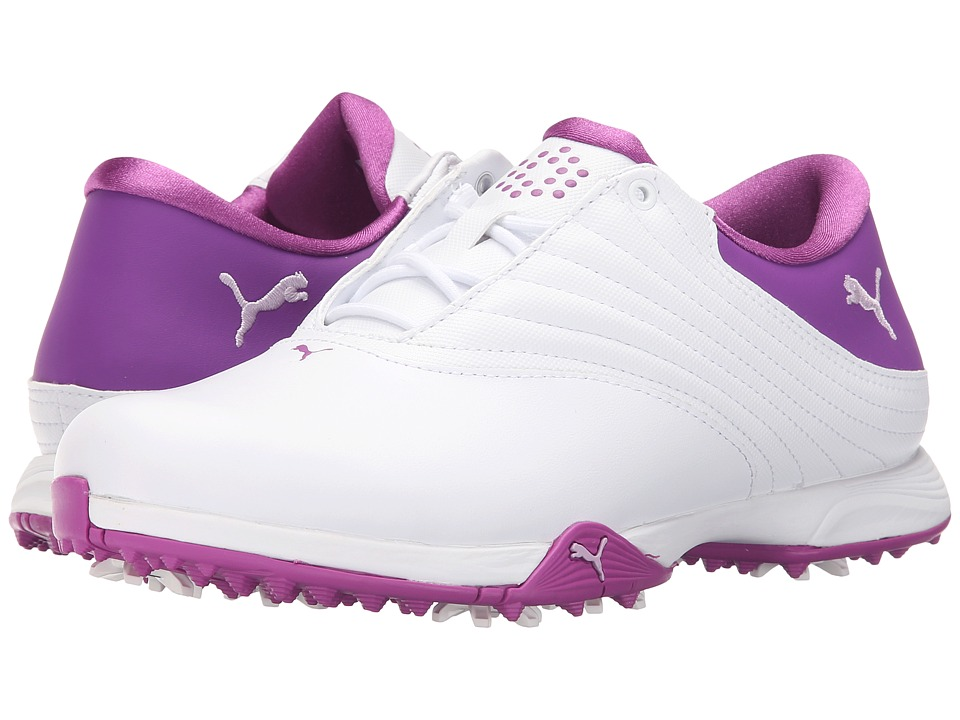 PUMA Golf - Blaze (White/Orchid Bloom/Purple Cactus Flower) Women's Golf Shoes