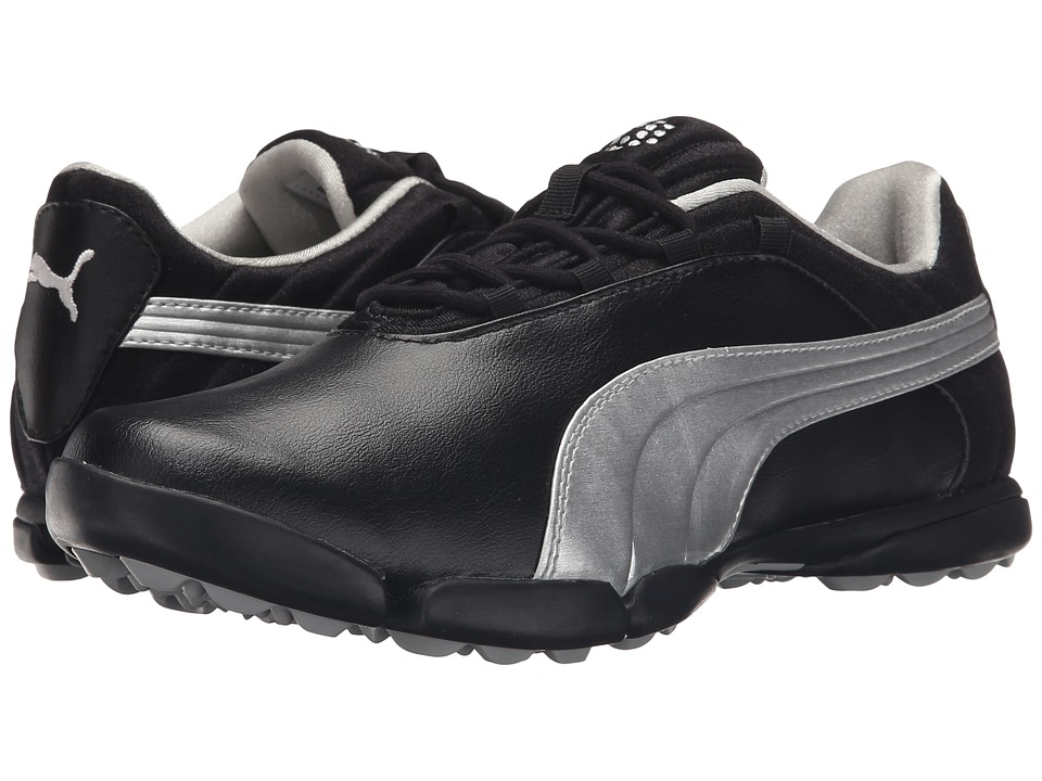 PUMA Golf - Sunnylite V2 (Black/Puma Silver) Women's Golf Shoes