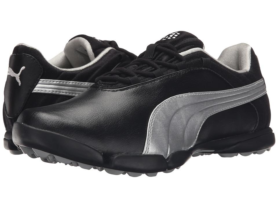 PUMA Golf - Sunnylite V2 (Black/Puma Silver) Women's Golf Shoes