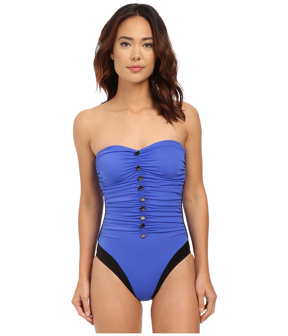 Magicsuit - Solid Chelsea One-Piece (Electric Blue) Women's Swimsuits One Piece