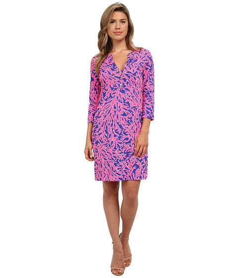 Lilly Pulitzer - Alessia Dress (Tropical Pink Did You Catch That) Women