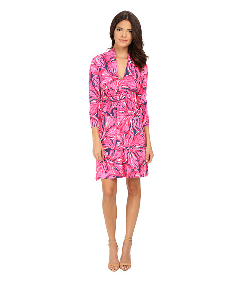Lilly Pulitzer - Alexandra Dress (Bright Navy Flirty Navy) Women