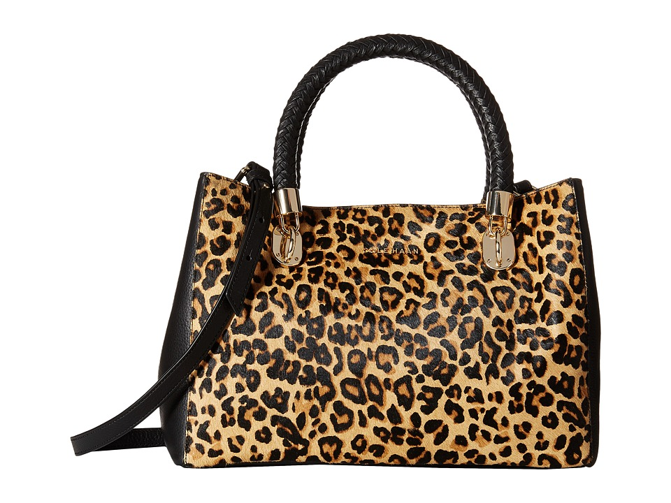 Cole Haan - Benson Small Tote (Leopard/Black) Tote Handbags