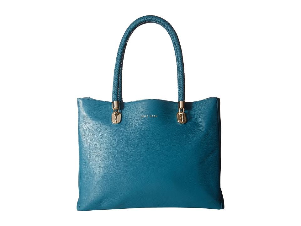 Cole Haan - Benson Large Tote (Ernest Teal) Tote Handbags