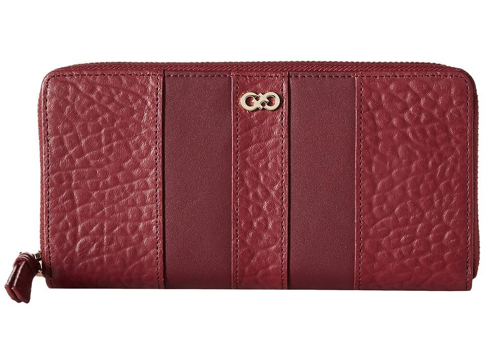 Cole Haan - Emily Continental Zip (Zinfandel) Handbags