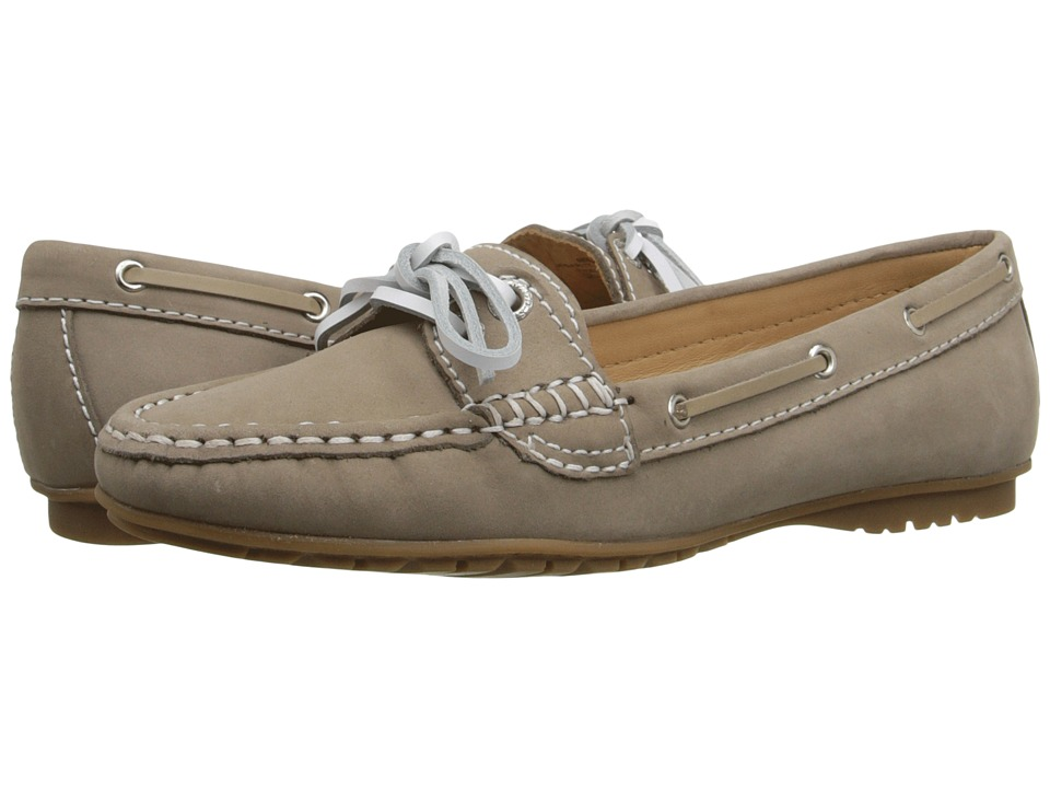 Sebago Meriden Two Eye (Dark Taupe Nubuck) Women's Shoes