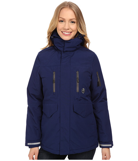 Khombu - Tri Season Jacket (Navy) Women's Coat