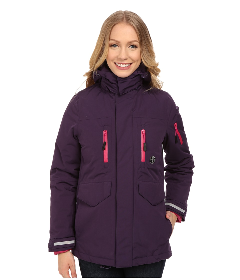 Khombu - Tri Season Jacket (Petunia) Women's Coat