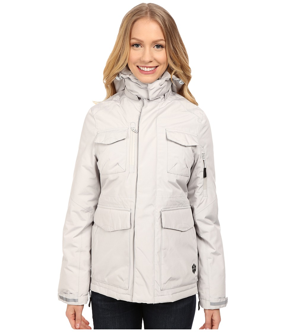 Khombu - Parka Jacket (Glacier Grey) Women's Coat