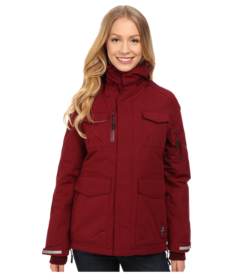 Khombu - Parka Jacket (Tawny Port) Women's Coat