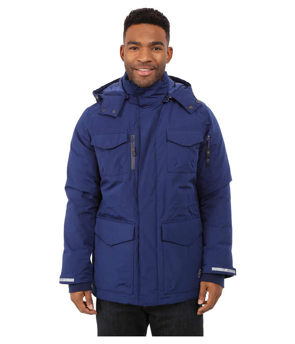 Khombu - Parka Jacket (Navy) Men's Coat