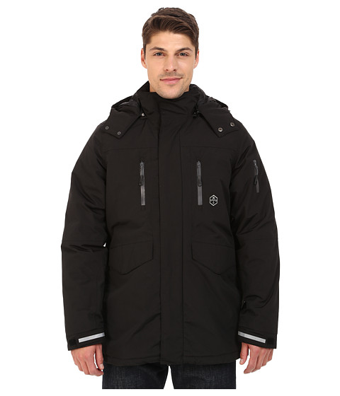 Khombu - Tri Season Jacket (Jet Black) Men's Coat