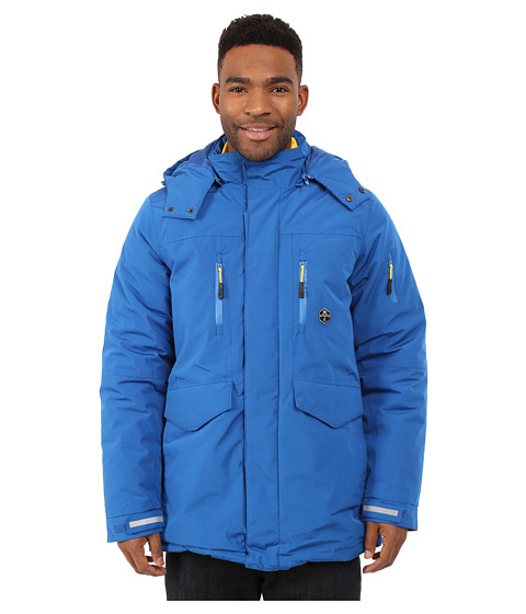 Khombu - Tri Season Jacket (Snorkle Blue) Men's Coat