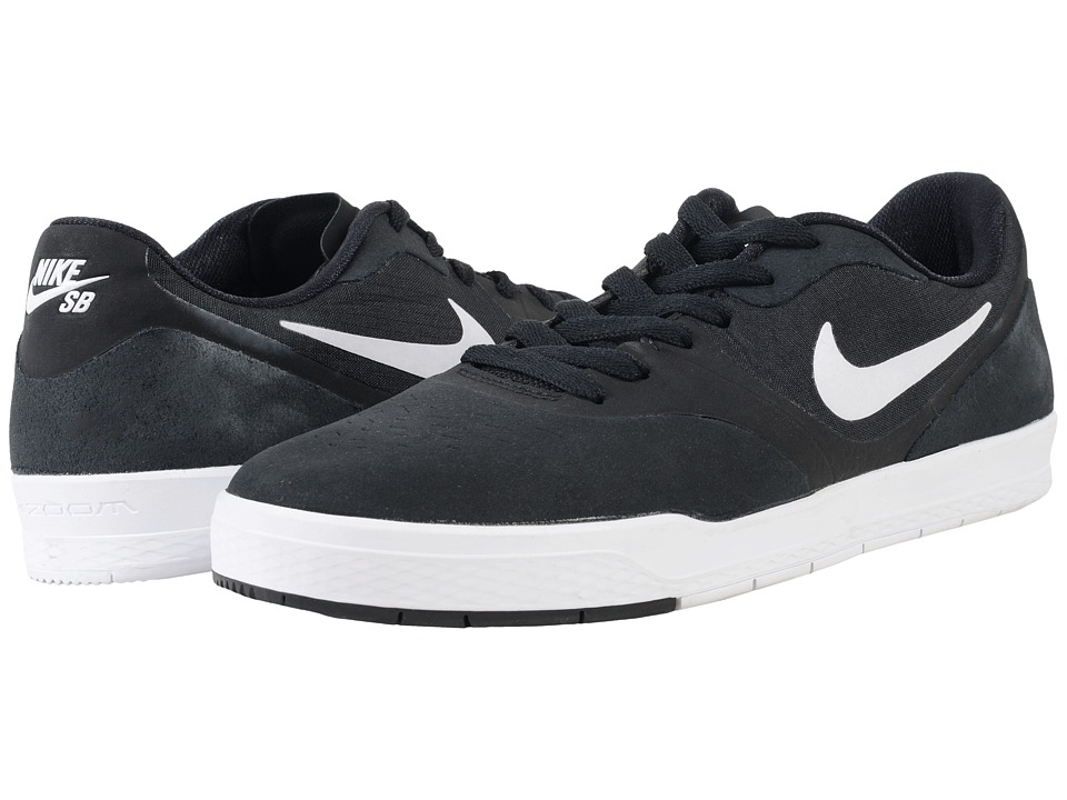 Nike SB - Paul Rodriguez 9 CS (Black/White/Black) Men's Skate Shoes