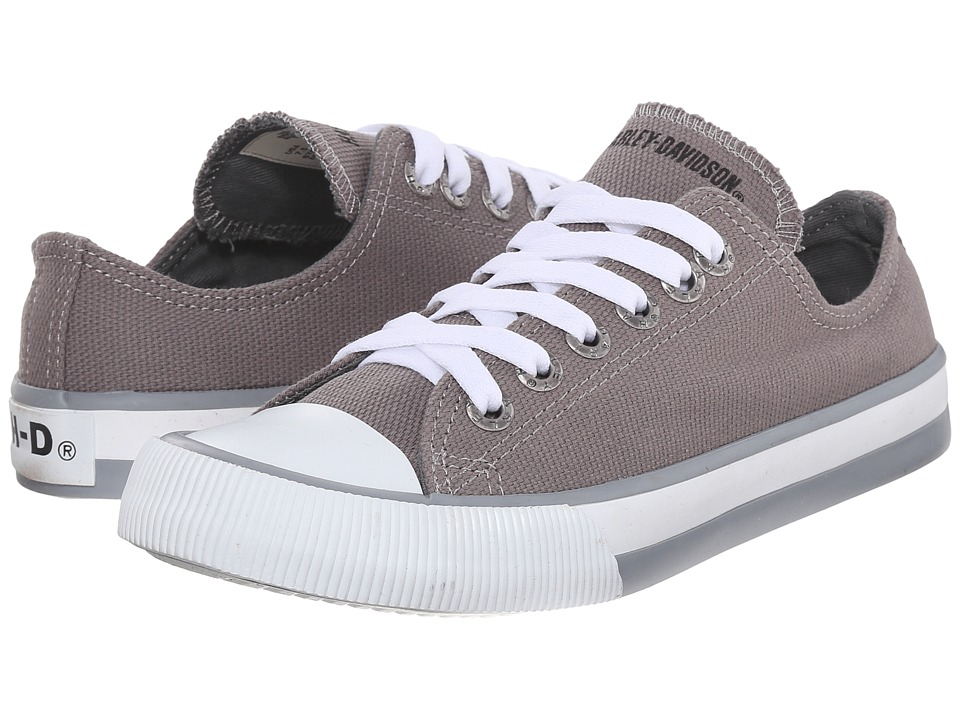 Harley-Davidson - Zia (Grey) Women's Lace up casual Shoes