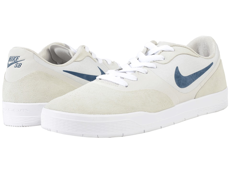 Nike SB - Paul Rodriguez 9 CS (Light Bone/Squadron Blue/White) Men's Skate Shoes
